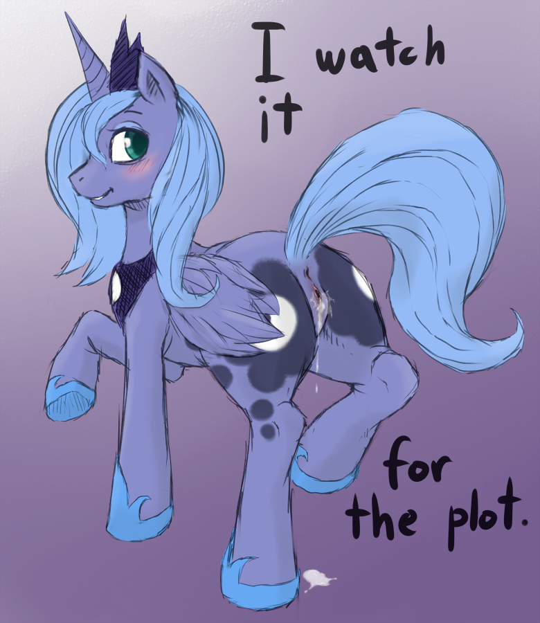 pony luna my little princesa Oh boy smooching time zelda