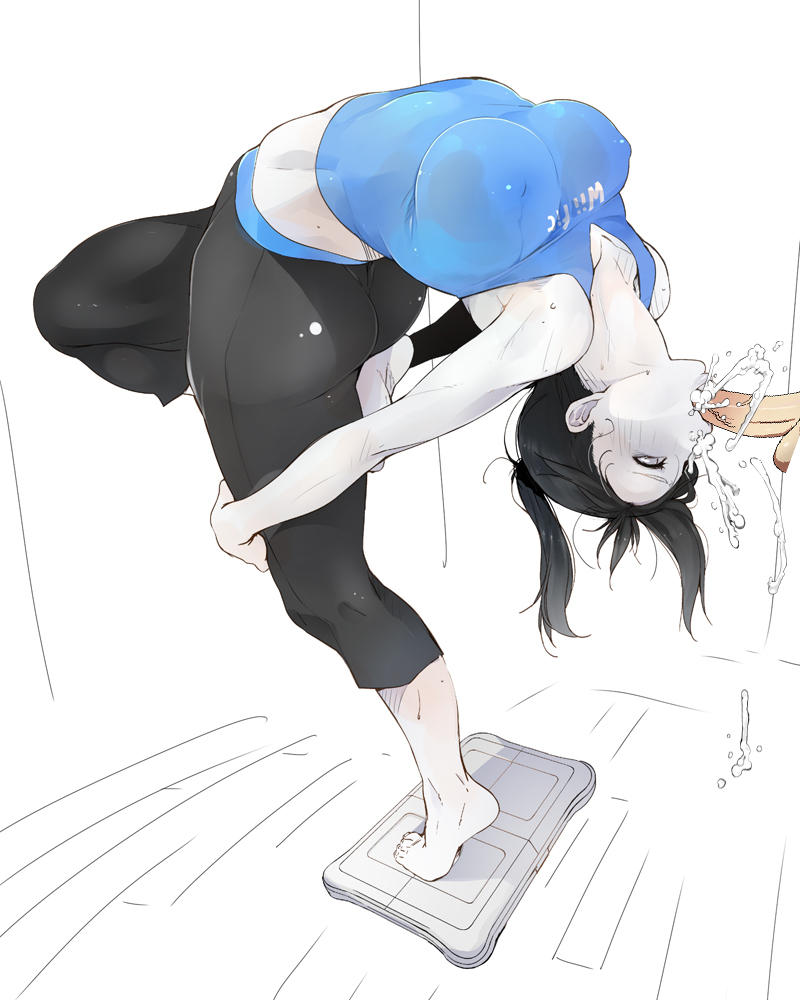rule 63 fit wii trainer Swimmer pokemon sun and moon