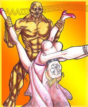 4 fallout curie Demonion ~maou no chika yousai