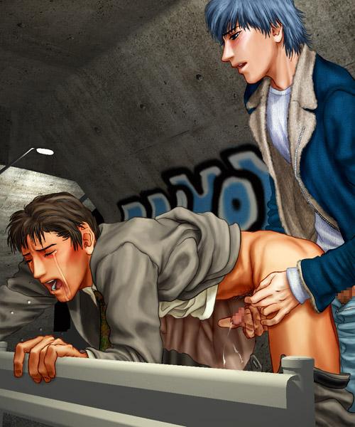 yaoi x hikaru kaoru doujinshi Highschool of the dead pictures