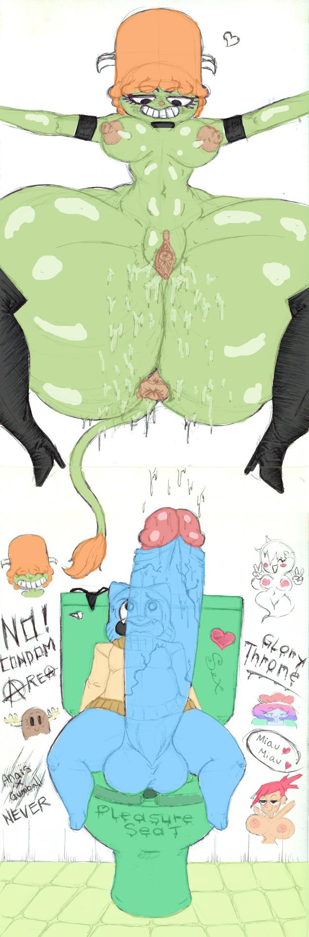 of gumball amazing world the jamie Goku and bulma fanfiction lemon