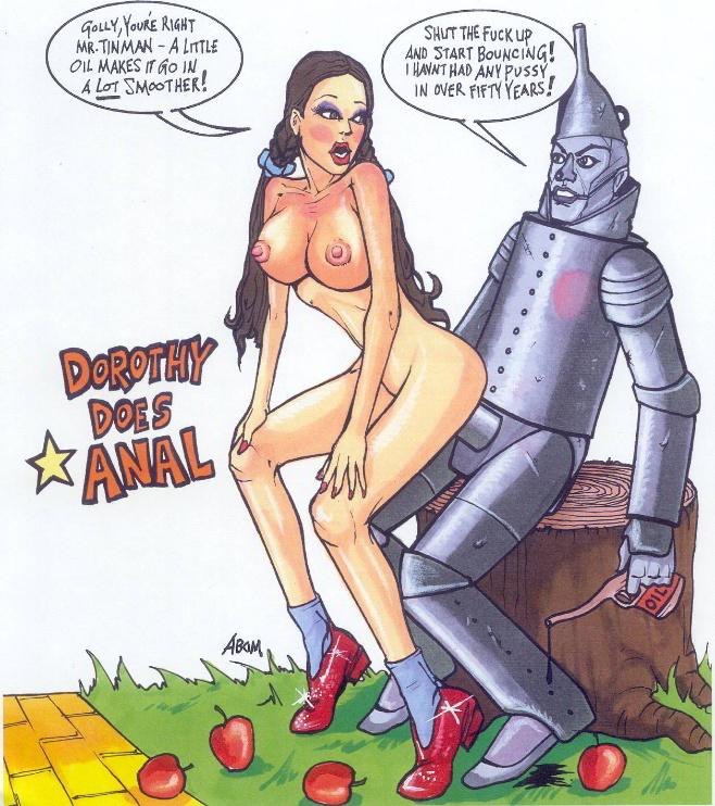 of nude wizard dorothy oz Heavy metal fakk 2