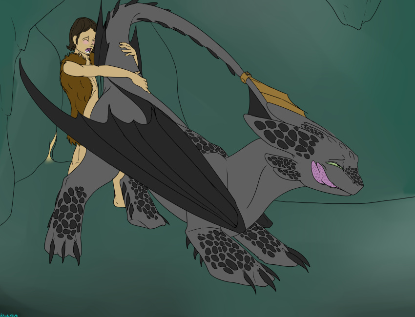 hiccup fury fanfiction train to how night turns your dragon a into God of war 2 sisters of fate