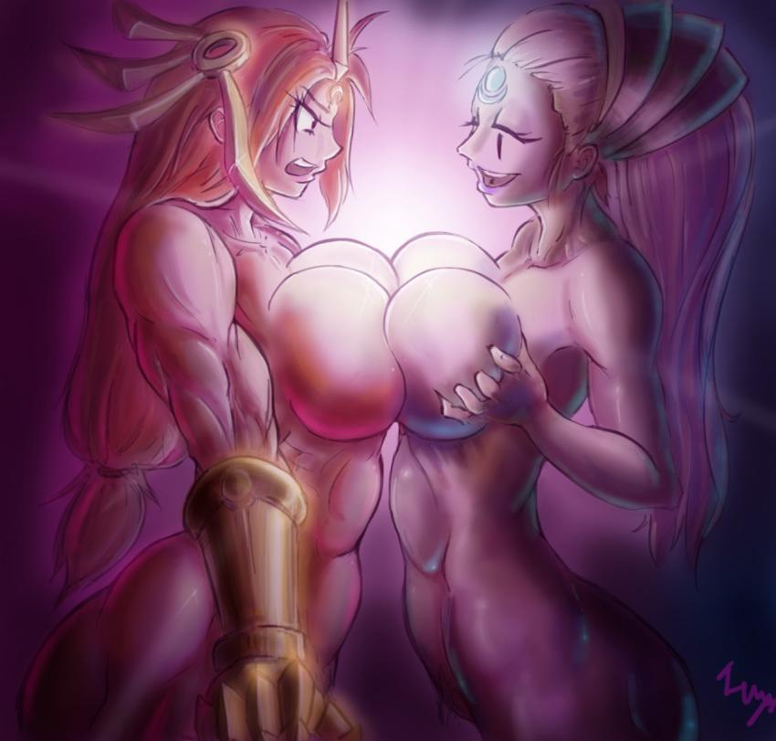 ahri legends league nude of Ira gamagori kill la kill