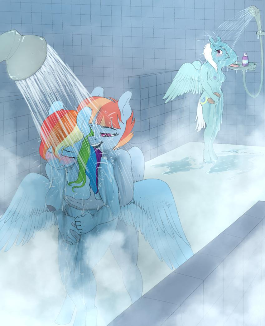 soarin and dash mlp rainbow 3ping lovers!?ippu nisai no sekai e youkosod