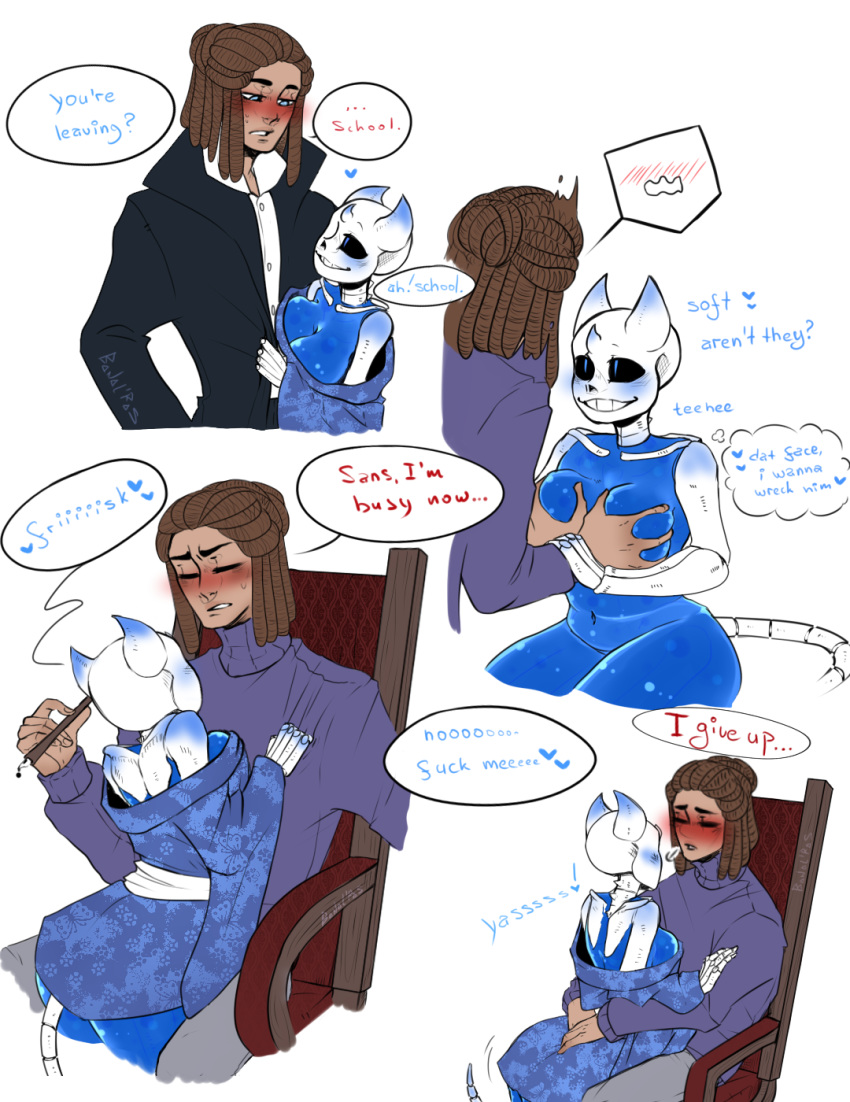 female frisk fanfiction asriel x Mage and demon queen hentai