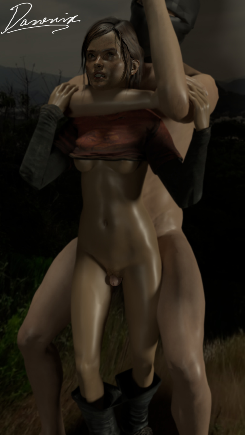 sfm porn last of the us Breath of fire