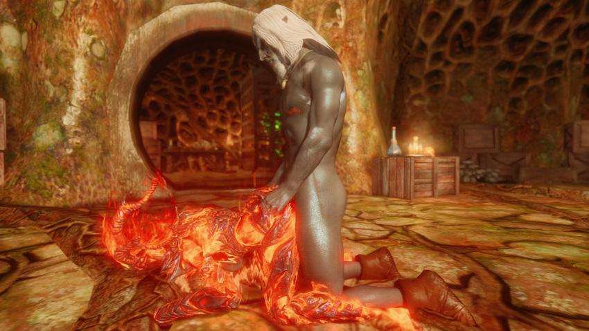 scrolls porn elder dark elf Mercedes final fantasy brave exvius