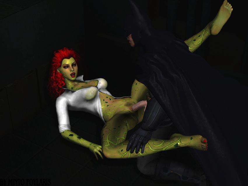 arkham ivy assault batman on poison Red x and raven fanfiction