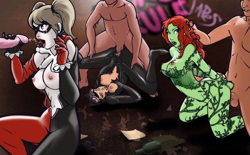 and harley quinn having sex catwoman Dragon ball z bulma nude