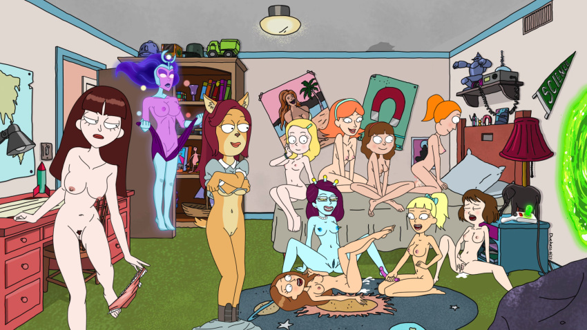 and summer from morty rick nude Mass effect andromeda vetra nude