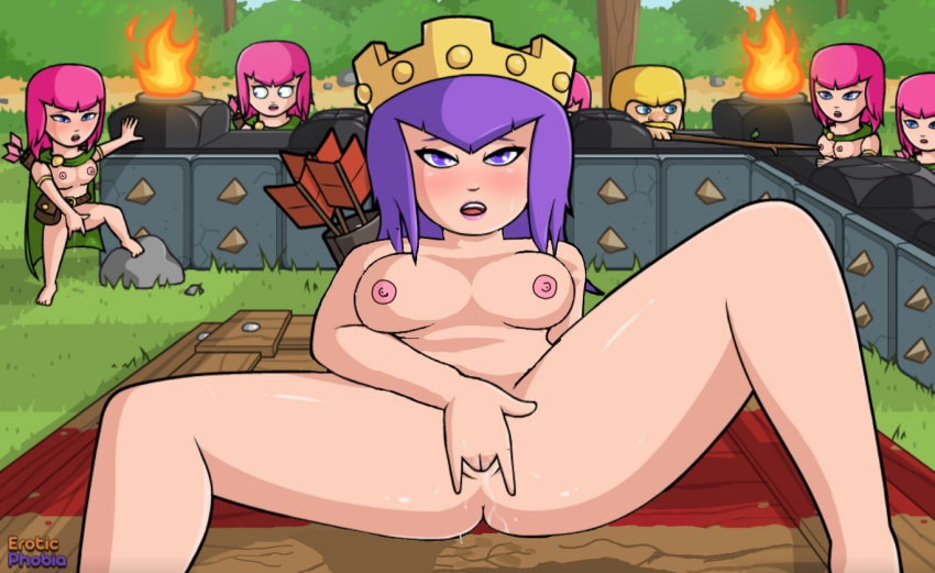 clash clans porn of animated Kui-tan trials in tainted space