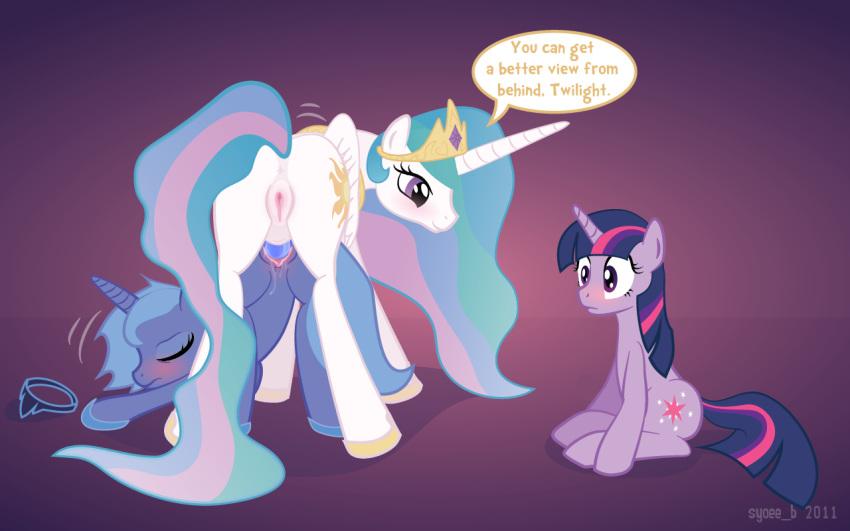 celestia luna princess and Rise of the guardians sex